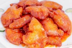 517 Куриное филе в кисло-сладком соусе