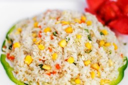 1104 Рис с овощами и яйцом