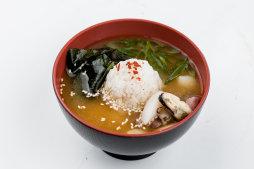 Суп Мисо с морепродуктами