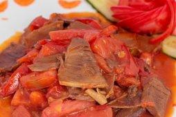 306 Говядина с помидорами