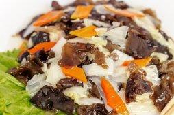 707 Черные грибы с китайской капустой
